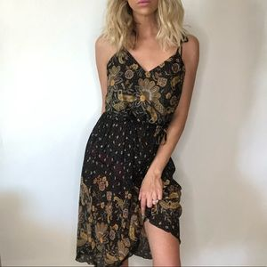 {Vintage} midi summer dress